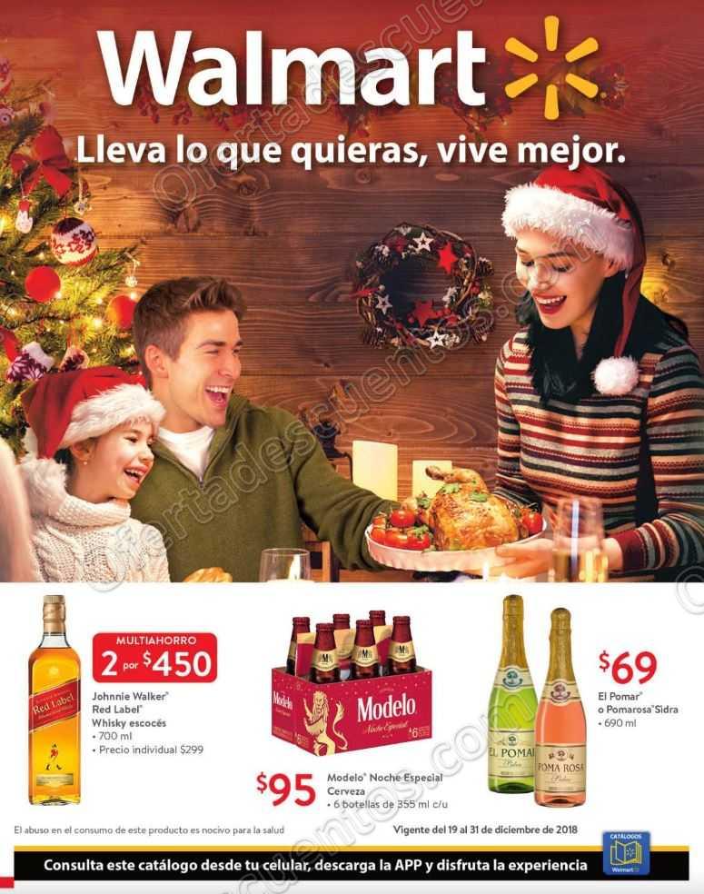 Walmart: Folleto Ofertas de Navidad del 21 al 31 de Diciembre 2018