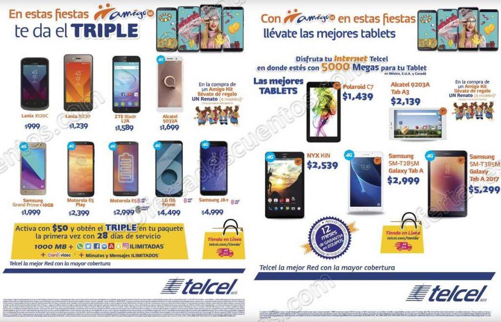 Promociones Telcel 2018/2019: Descuento en Celulares, Beneficios en Recargas, Planes de Renta y más