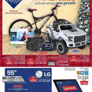 Sam's: Folleto Sorpresas de Navidad del 18 al 25 de Diciembre 2018