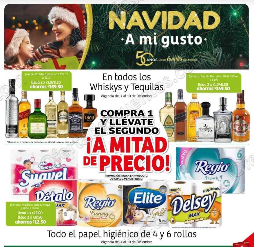 Soriana: Promociones Fin de Semana Navidad a Mi Gusto del 7 al 10 de Diciembre 2018