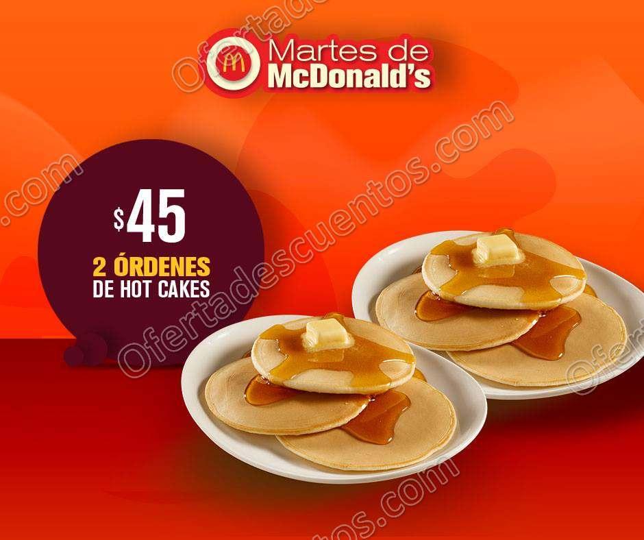 Cupones Martes de McDonald's 8 d Enero 2019