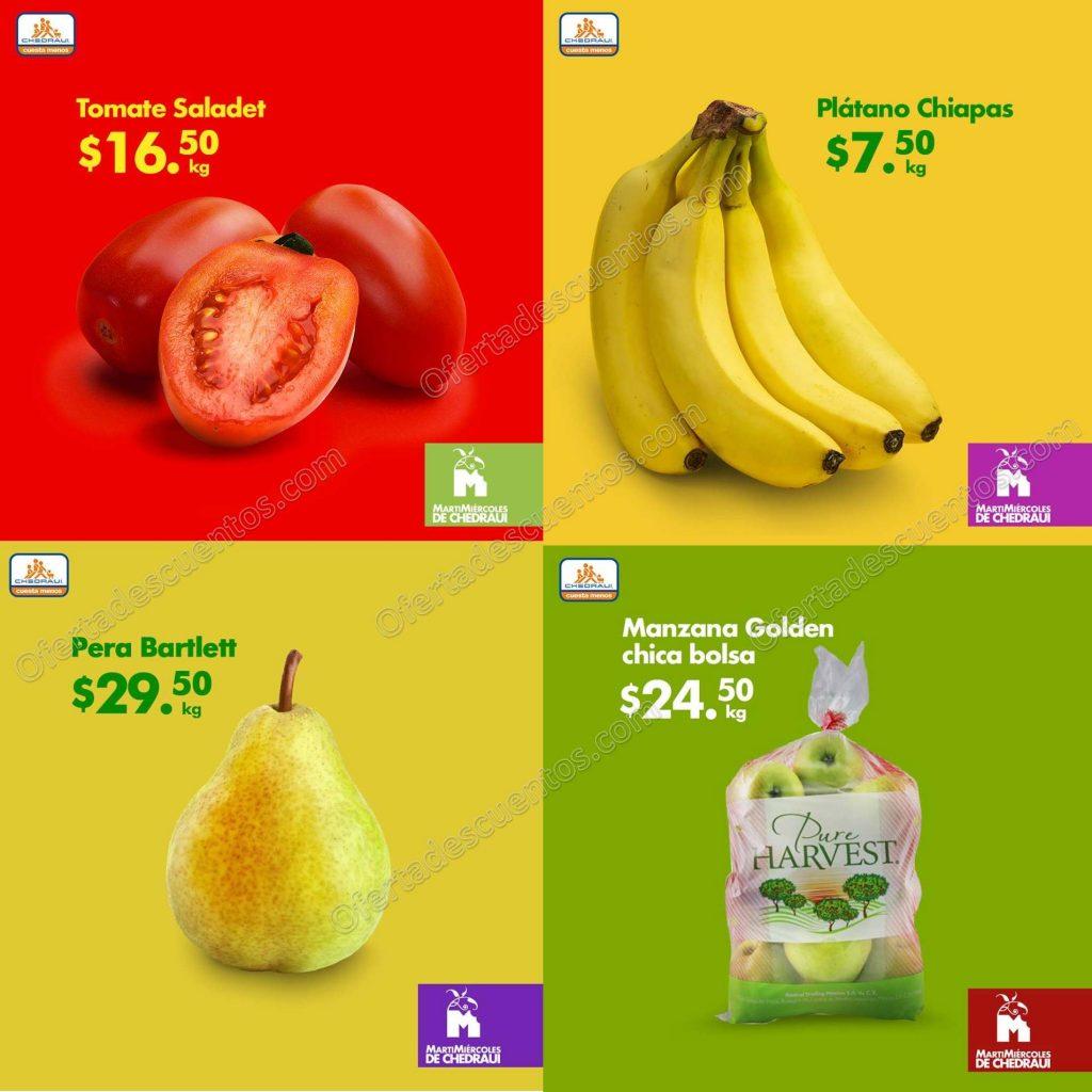 Chedraui: Frutas y Verduras 8 y 9 de Enero 2019