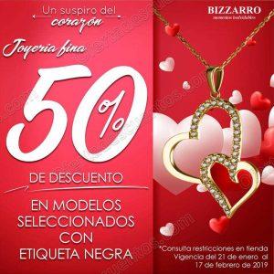 Joyerías Bizzarro: Promociones San Valentín Enero-Febrero 2019