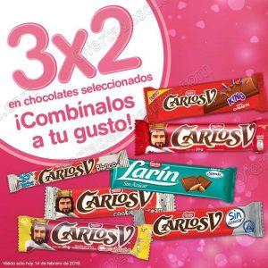 Farmacias Benavides: 3×2 en Variedad de Chocolates solo 14 de Febrero 2019