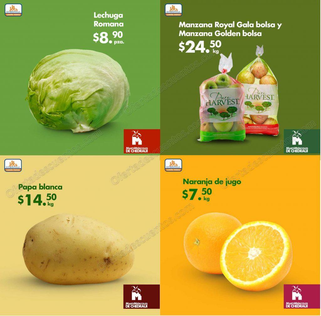Chedraui: Frutas y Verduras 26 y 27 de Febrero 2019