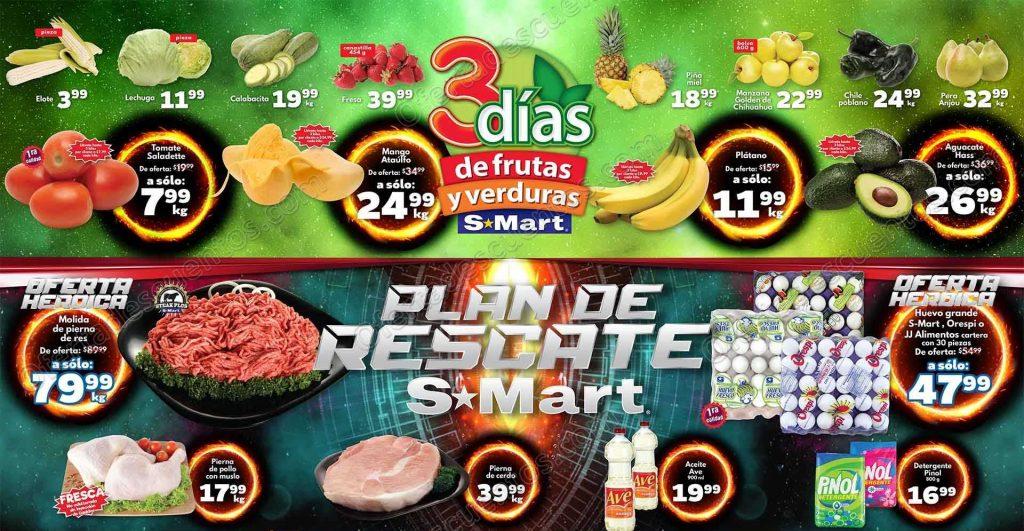 S-Mart: 3 Días de Frutas y Verduras del 19 al 21 de Febrero 2019
