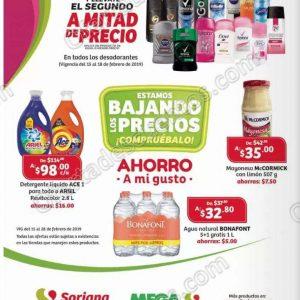 Soriana: Promociones de Fin de Semana del 15 al 18 de Febrero 2019