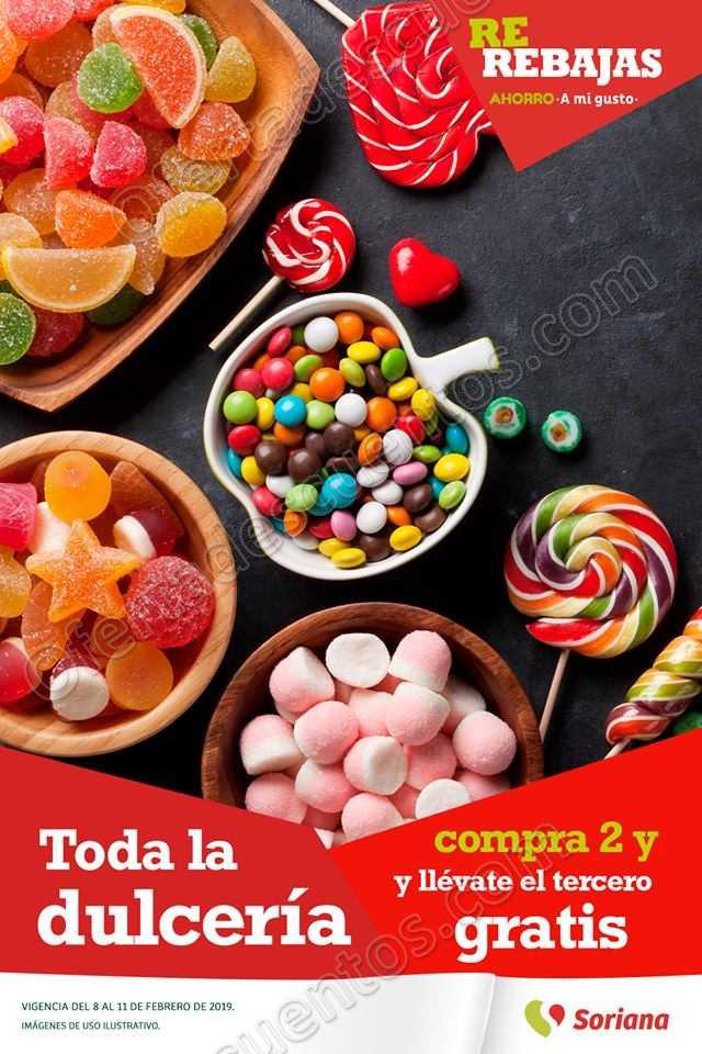 Soriana: Promociones de fin de semana del 8 al 11 de Febrero 2019