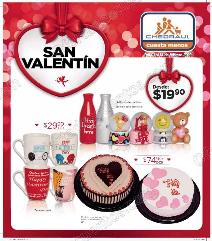 Chedraui: Folleto Ofertas San Valentín del 1 al 14 de Febrero 2019