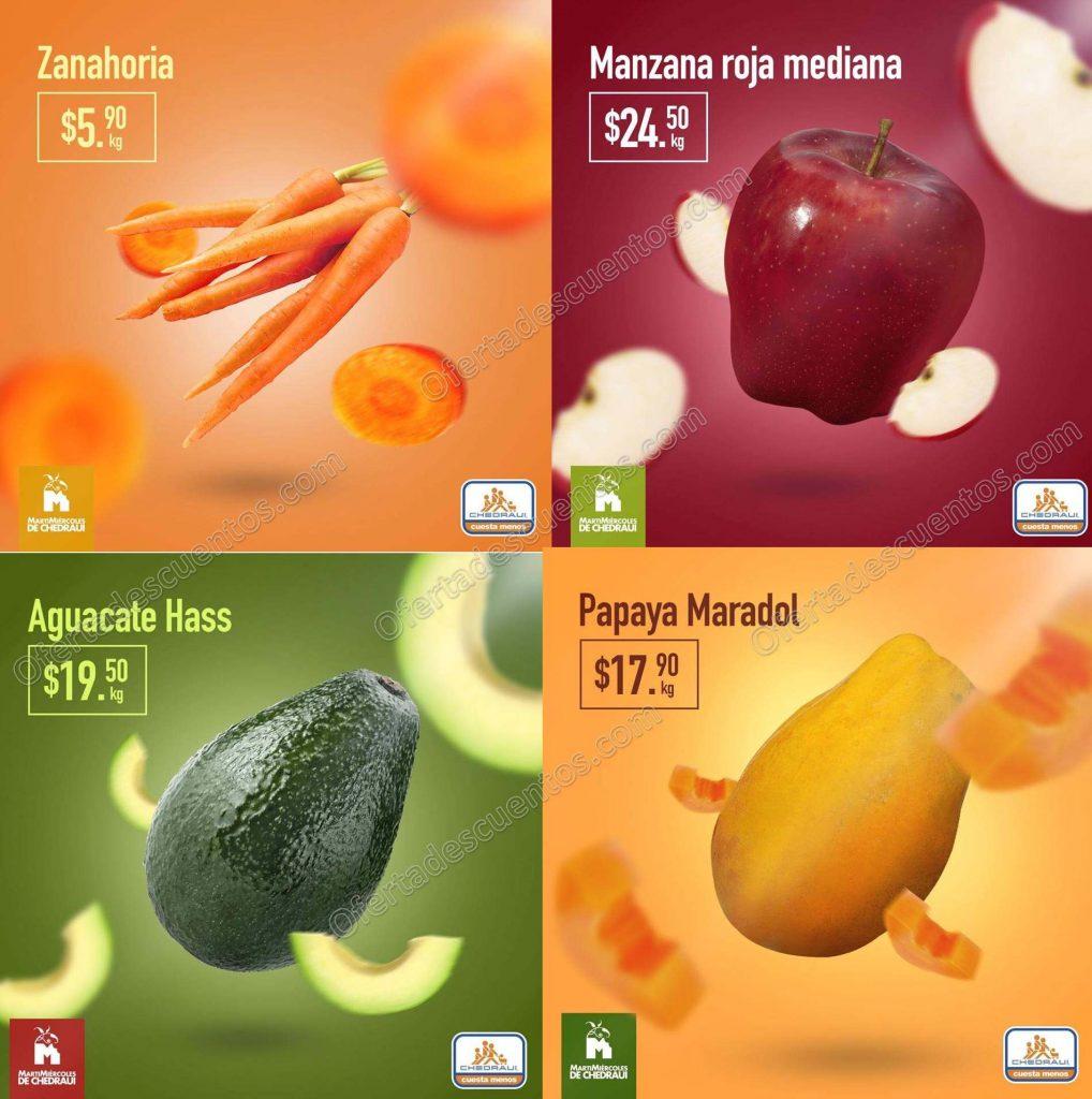 Chedraui: Frutas y Verduras 5 y 6 de Marzo 2019