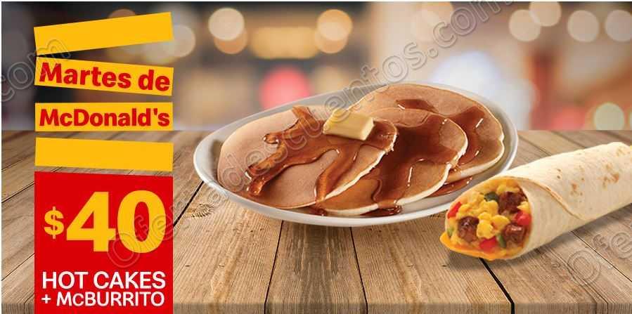 Cupones Martes de McDonald's 19 de Marzo 2019