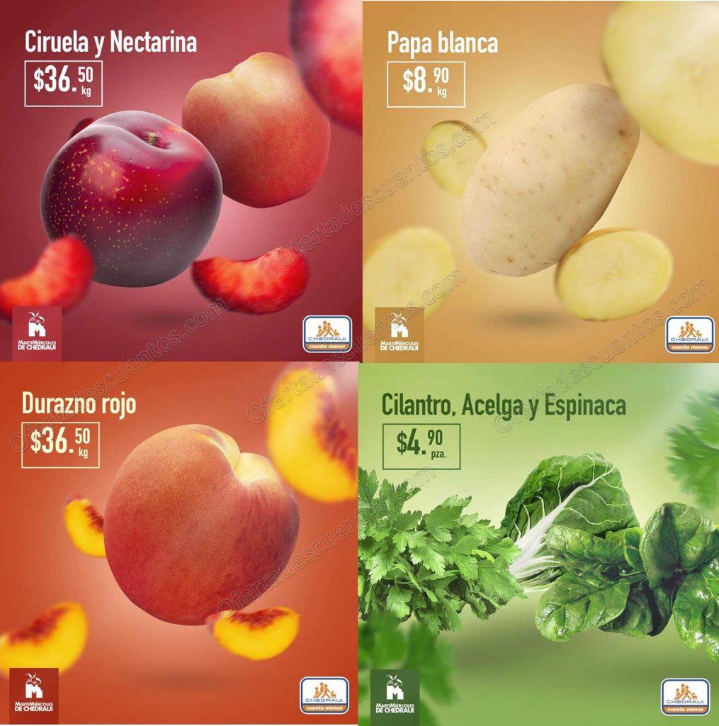 Chedraui: Frutas y Verduras 12 y 13 de Marzo 2019
