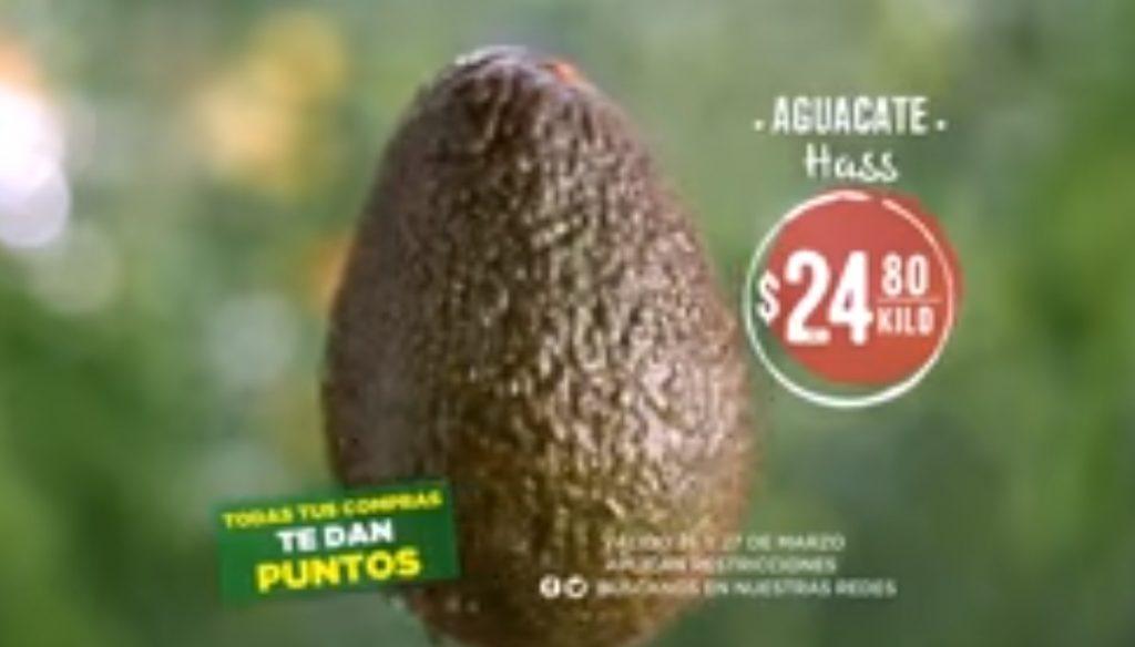 Mega Soriana: Frutas y Verduras 26 y 27 de Marzo 2019