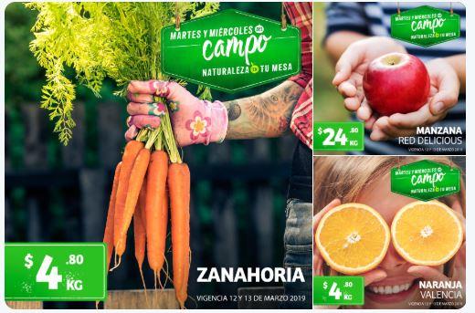 Frutas y Verduras Soriana 12 y 13 de Marzo 2019