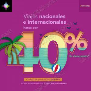 MarzoVenta Volaris: Hasta 40% de descuento en Vuelos Nacionales e Internacionales