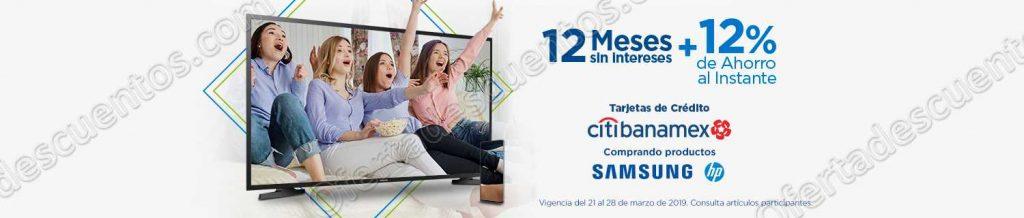 Sams Club: 12 meses sin intereses más 12% de bonificación al instante con Citibanamex