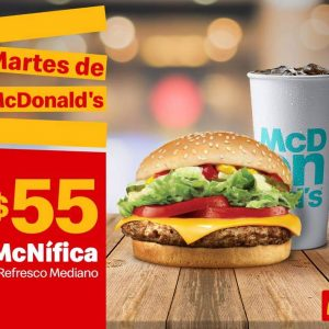 Cupones Martes de McDonalds 9 de Abril 2019