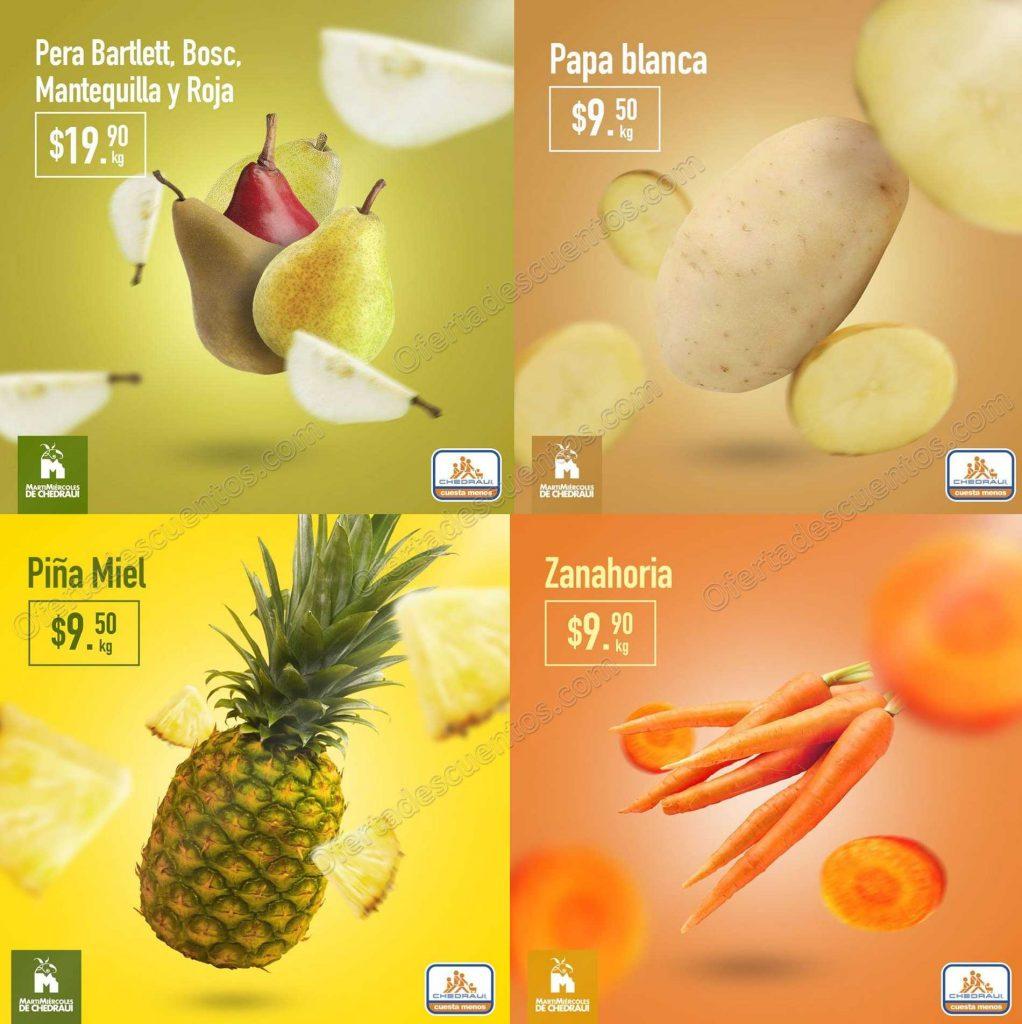 Chedraui: Frutas y Verduras 2 y 3 de Abril 2019