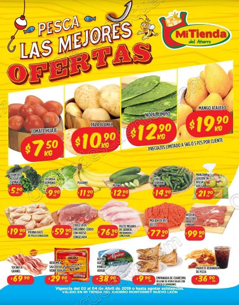 Mi Tienda del Ahorro: Preciazos en Frutas y Verduras del 2 al 4 de Abril 2019