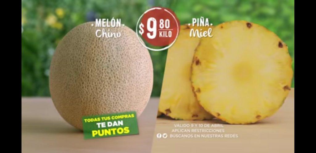 Frutas y Verduras Soriana 9 y 10 Abril 2019