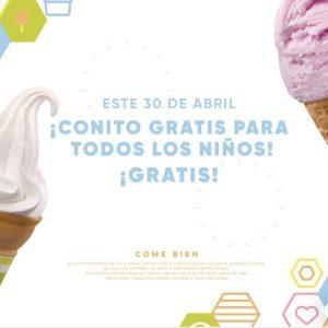 Nutrisa: Conito Gratis a todos los niños este 30 de Abril 2019