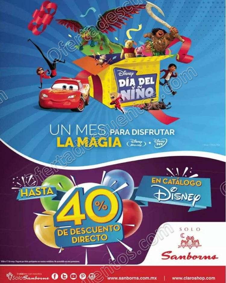 Sanborns: Hasta 40% de descuento en películas Disney