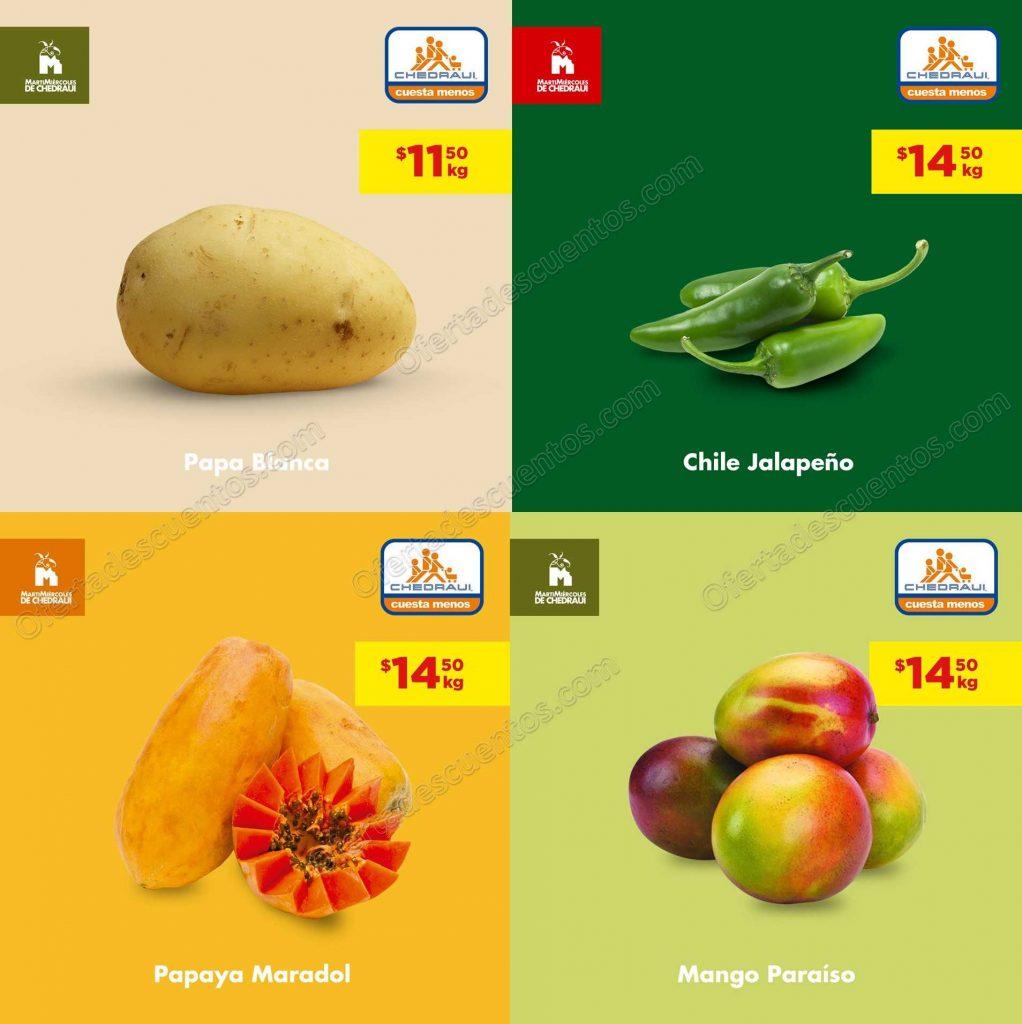 Chedraui: Ofertas Frutas y Verduras 14 y 15 de Mayo 2019