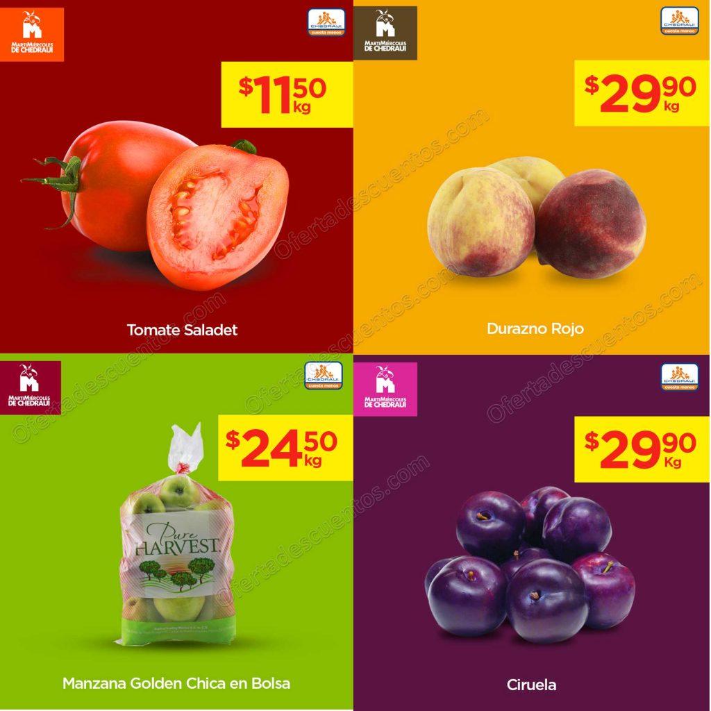 Chedraui: Ofertas Frutas y Verduras 7 y 8 de Mayo 2019