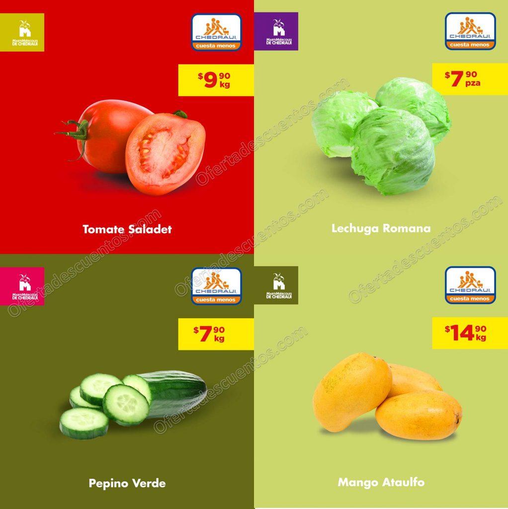 Chedraui: Ofertas Frutas y Verduras 21 y 22 de Mayo 2019