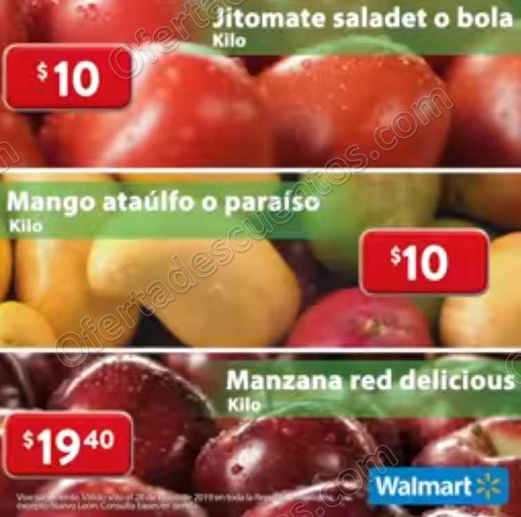 Ofertas Martes de Frescura Walmart 28 de Mayo 2019