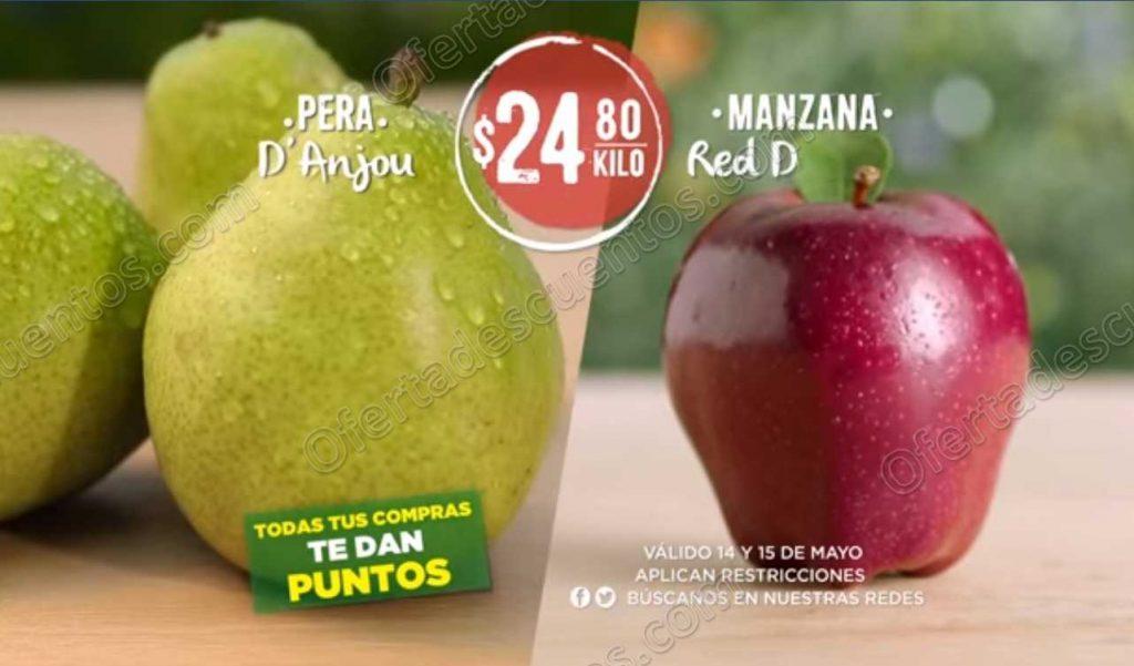 Soriana: Ofertas Frutas y Verduras 14 y 15 de Mayo 2019