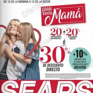 Venta Nocturna Para Mamá Sears 3 y 4 de Mayo 2019