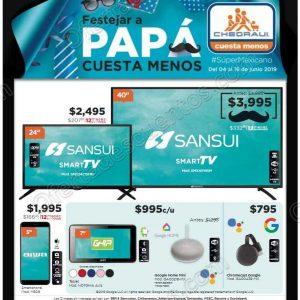 Chedraui: Folleto Ofertas Festejar a Papá Cuesta Menos del 4 al 16 de Junio 2019