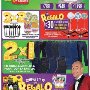 Folleto Ofertas Julio Regalado 2019 Soriana Mercado y Soriana Express al 13 de Junio
