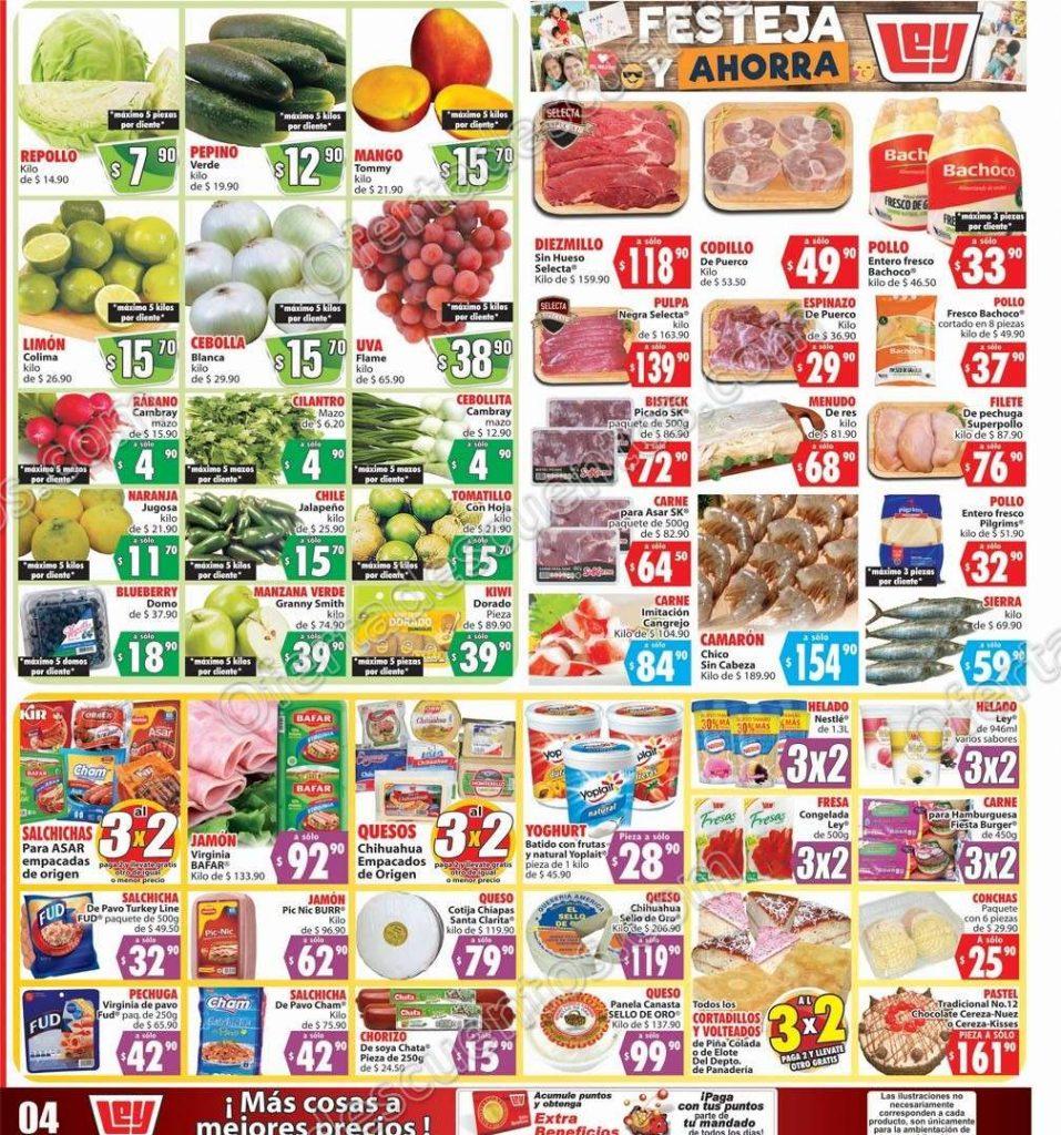 Casa Ley: Ofertas en frutas y verduras 18 y 19 de Junio 2019