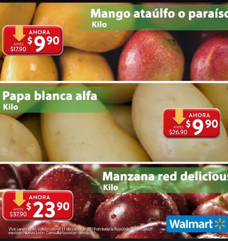 Ofertas Martes de Frescura Walmart 11 de Junio 2019