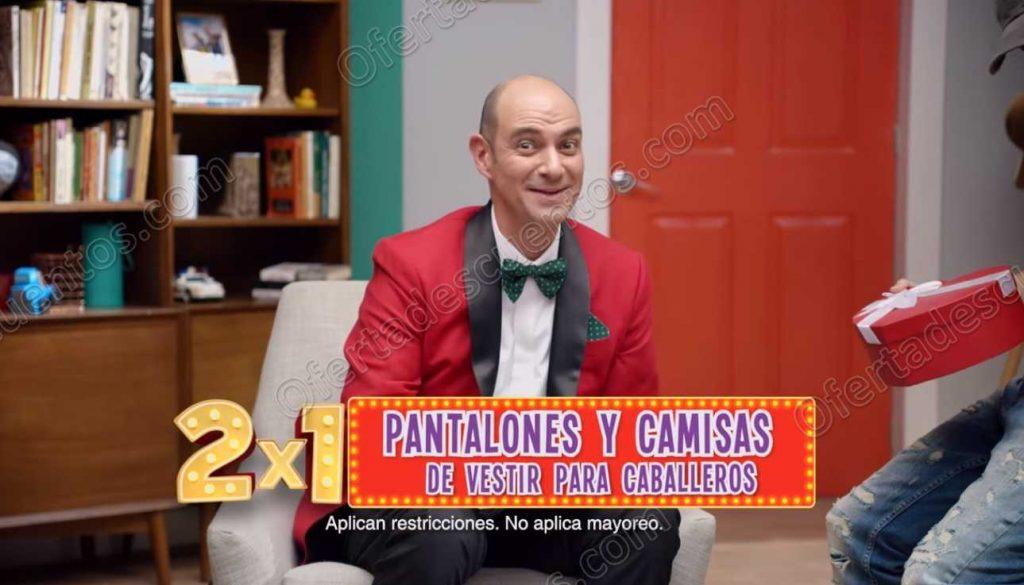 Oferta Julio Regalado 2019: 2×1 en Pantalones y Camisas de Vestir para Caballero