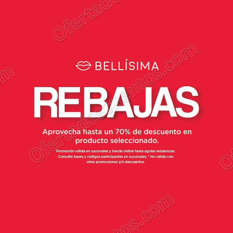 Rebajas Bellisima: hasta 70% de descuento en gran variedad de producto