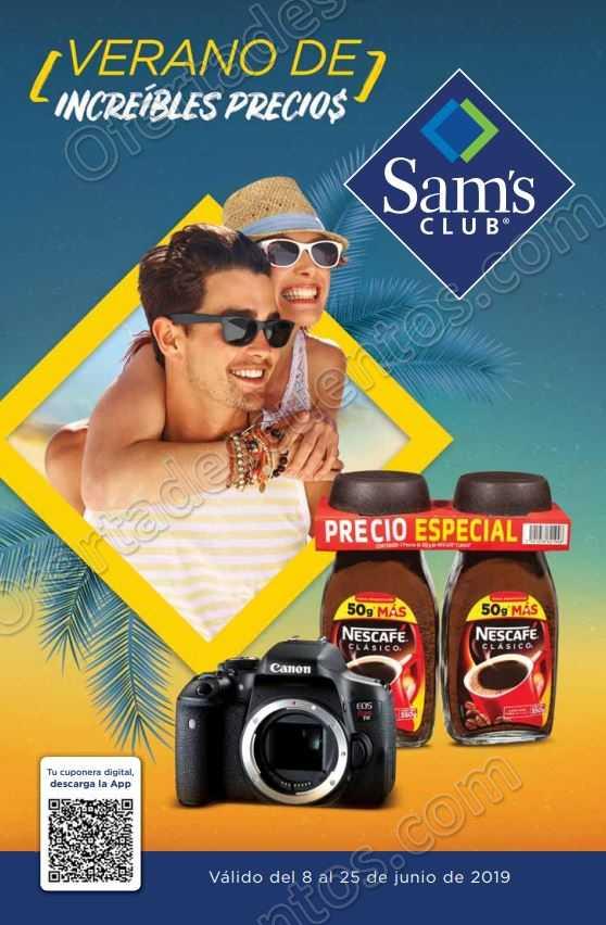 Sams Club: Cuponera de Promociones del 8 al 25 de Junio 2019