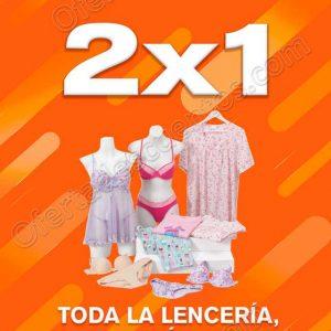 Temporada Naranja 2019 La Comer: 2×1 en Lencería, Corsetería, Medias y Pijamas para Damas