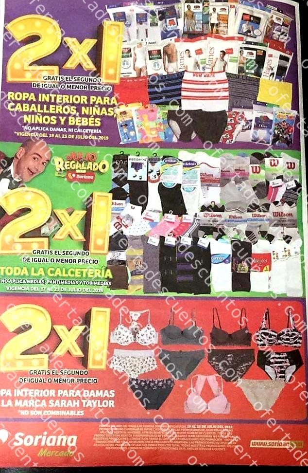 Folleto Ofertas Julio Regalado 2019 Soriana Mercado del 19 al 25 de Julio