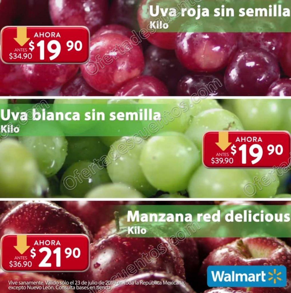Ofertas Martes de Frescura Walmart 23 de Julio 2019