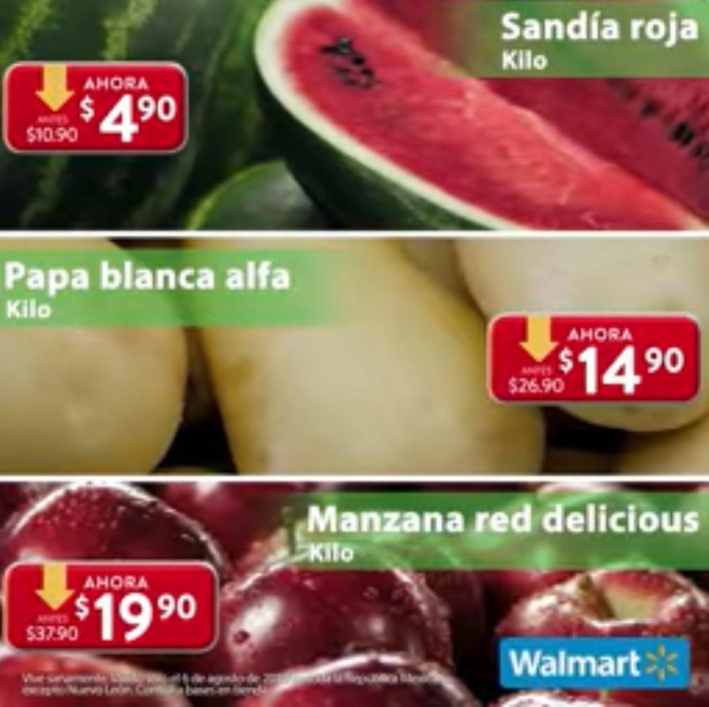 Ofertas Martes de Frescura Walmart 6 de Agosto 2019