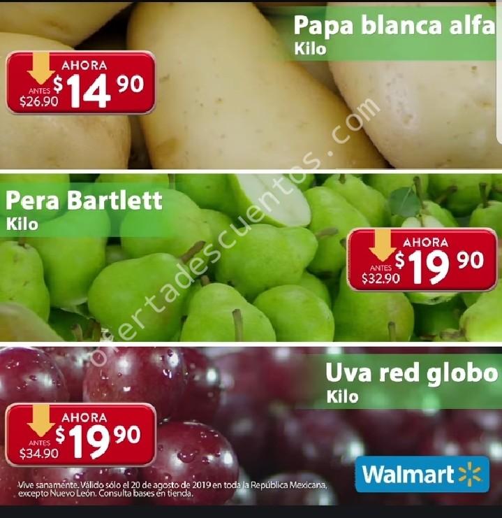 Ofertas Martes de Frescura Walmart 20 de Agosto 2019