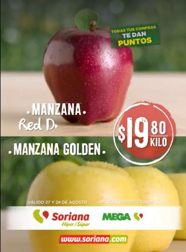 Soriana: Ofertas en Frutas y Verduras Martes y Miércoles del Campo 27 y 28 de Agosto 2019