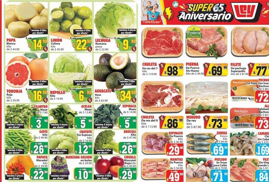 Casa Ley: Ofertas En Frutas y Verduras 24 y 25 de Septiembre 2019