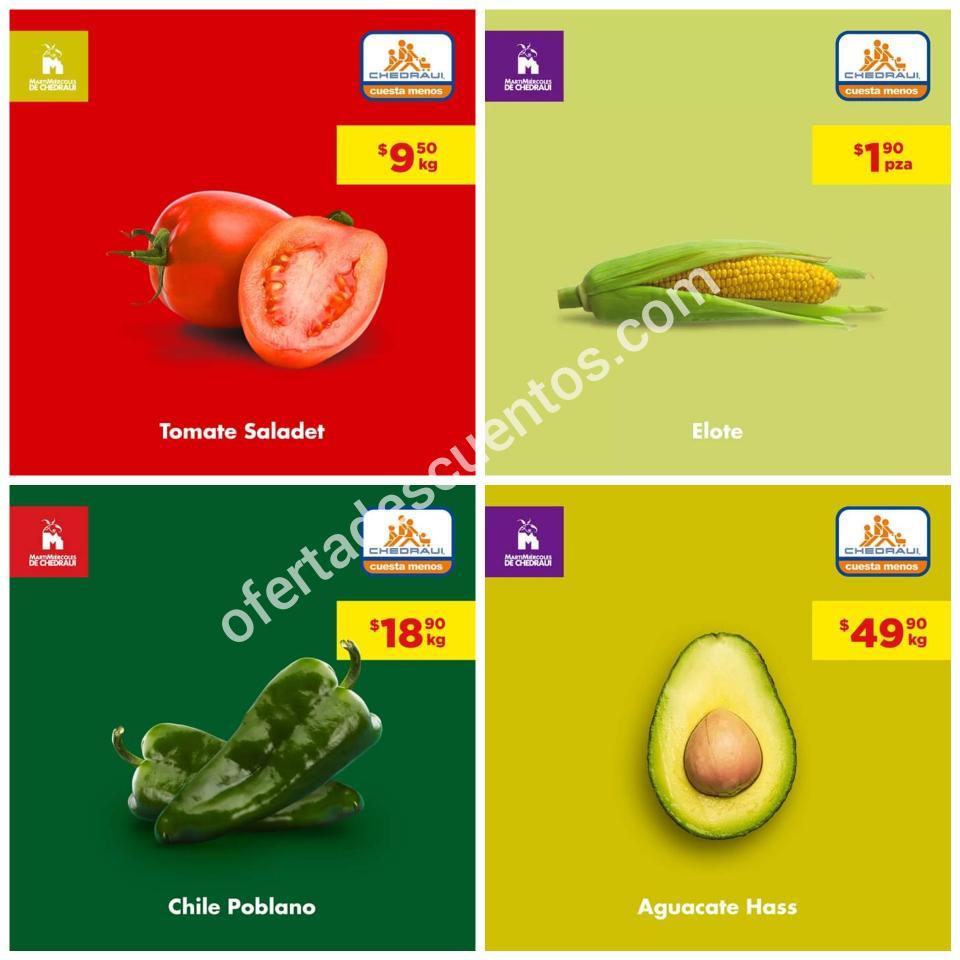 Chedraui: Ofertas MartiMiércoles de Frutas y Verduras 10 y 11 de Septiembre 2019