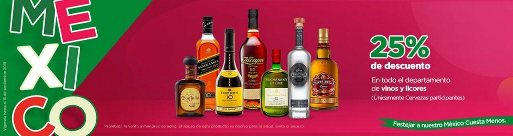 Chedraui: Promociones Fiestas Patrias 15 y 16 de Septiembre 2019