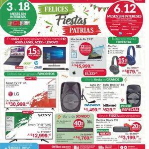 Office Depot: Promociones Fiestas Patrias 12 de Septiembre 2019