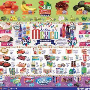 S-Mart: 3 Días de Ofertas en Frutas y Verduras del 17 al 19 de Septiembre 2019